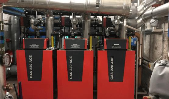 Refurbishment of school heating systems
