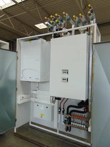 Battersea - offsite fabricated utility cupboards