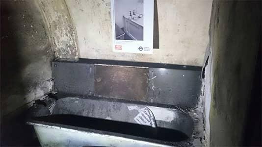 Churchill's bath