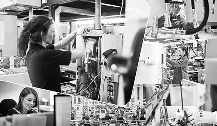 Ladies working in the heating industry