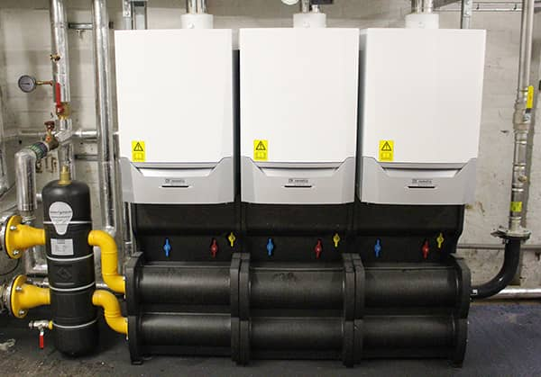 Remeha Quinta Ace boilers at Benthal Primary School